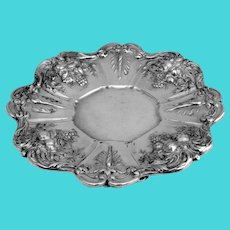 Francis I Large Footed Compote Reed Barton Sterling Silver 1950
