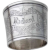 Large Collar Form Napkin Ring Applied Button Coin Silver Mono Richard