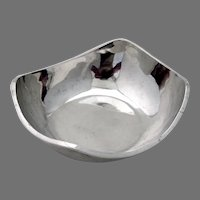 Arts And Crafts Bowl Sterling Silver Mexico