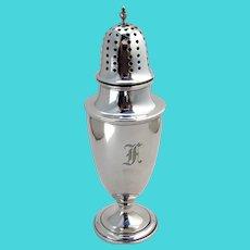 Gorham Colonial Revival Sugar Shaker Sterling Silver Mono F