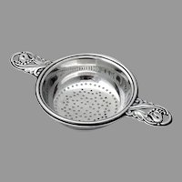 Spring Glory Tea Strainer International Sterling Silver 1942