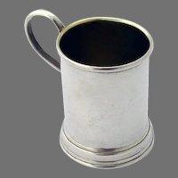 Lunt Mug Mini Tankard Sterling Silver No Mono