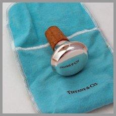Tiffany Bottle Stopper Sterling Silver Germany
