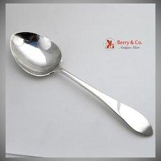 Arthur Stone Ernest Lehtonen Serving Spoon Pointed Antique Sterling Silver