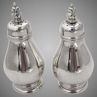 Details about  Royal Danish Salt Pepper Shakers Set International Sterling Silver 1939