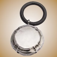 Norwegian Baby Rattle Synthetic Teething Ring 830 Standard Silver 1920