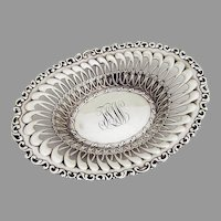 Louis XV Bon Bon Serving Bowl Whiting Mfg Co Sterling Silver 1891