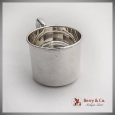 Vintage Baby Childs Cup International Silver Co Sterling Silver