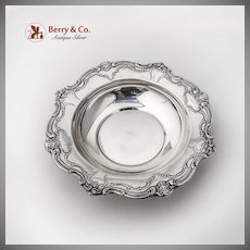 Chantilly Candy Dish Bon Bon Bowl Gorham Sterling Silver 1960