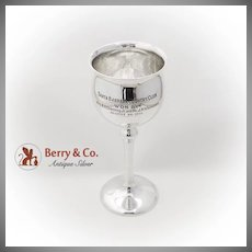 Vintage Trophy Cup Shreve Co Sterling Silver San Francisco