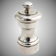 Vintage Pepper Mill Grinder Watson Silver Co Sterling Silver 1940