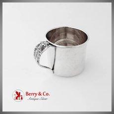 Grande Baroque Baby Cup Gilt Interior Wallace Sterling Silver