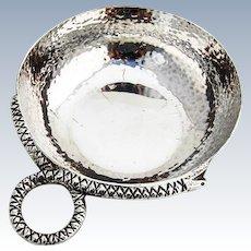 Hand Made Wine Taster Taste Vin Snake Handle TANE Sterling Silver Mexico