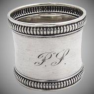 Antique Napkin Ring Sterling Silver Gorham Silversmiths 1910