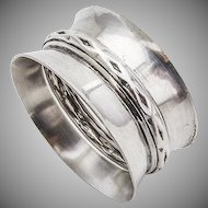 Vintage Napkin Ring Sterling Silver Wallace 5621
