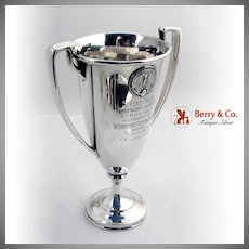 PPIE Yachting Trophy Sterling Silver Shreve and Co 1915