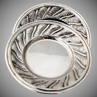 Gianmaria Buccellati Pair of Coasters Sterling Silver