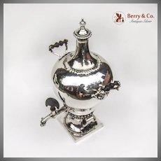 Elizabeth Godfrey Rococco Tea Urn 1761 London Sterling Silver