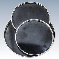 Trivitrays 3 Sterling Silver Rims Gorham