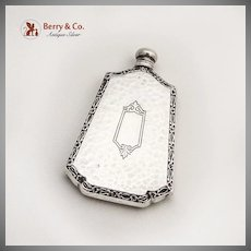 Small Perfume Bottle Sterling Silver Webster