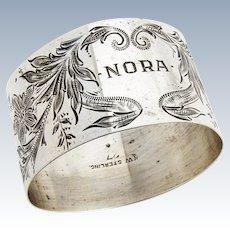 Napkin Ring Sterling Silver Watrous 1920