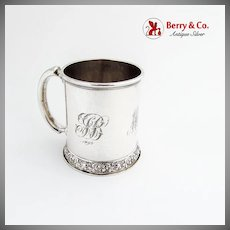 Christening Cup Sterling Silver Dominick and Haff 1878
