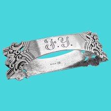 Anitra Napkin Ring Magnus Aase 1930 Norway 830 Silver