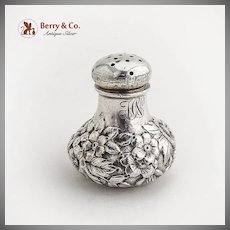 Repousse Small Shaker Sterling Silver Shiebler