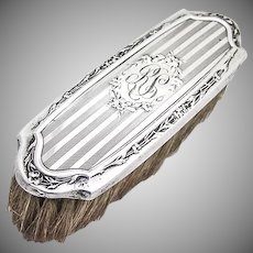 Clothes Brush Sterling Silver Wallace Sterling Silver 1900
