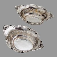 Cromwell 2 Nut Cups Sterling Silver Gorham Silversmiths