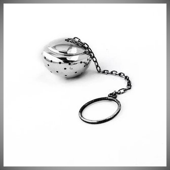 Small Tea Ball Sterling Silver 1940