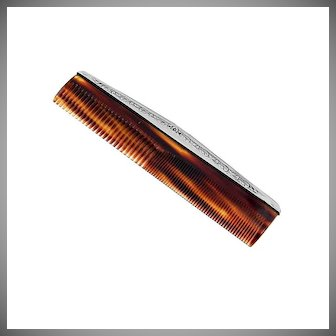 Hair Comb Sterling Silver International Silver Co
