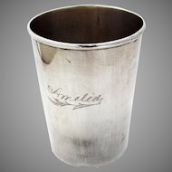 Spanish Colonial Mug Coin Silver 1850