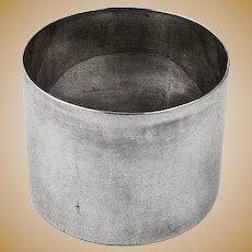 Napkin Ring Sterling Silver Plain Design