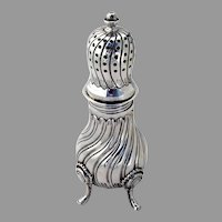 Large Ornate Sugar Caster Sterling Silver Tane