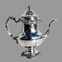Grande Baroque Coffee Pot Sterling Silver Wallace