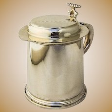 2bbf30c43e0e York Cottage Antiques.  225 USD. Tiffany and Co Lidded Tankard Cup Sterling  Silver