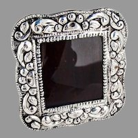 Picture Frame Spanish Colonial Style 900 Silver