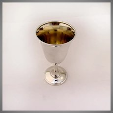 Goblet Sterling Silver Wallace 16