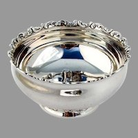 Louis XV Baby Bowl Sterling Silver Whiting Mfg 1891