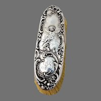 Cherub Clothes Brush Cherub Decorations Sterling Silver Shreve 1900