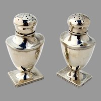 Salt and Pepper Shakers Sterling Silver William Kerr