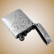 Lighter Sterling Silver Case Birmingham 1897