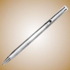 Pen Sterling Silver Tiffany and Co Ball Point