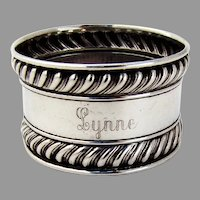 Gorham Gadroon Rim Napkin Ring Sterling Silver