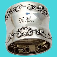 Gorham Strasbourg Napkin Ring Sterling Silver Old Style Mark