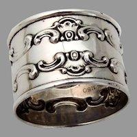 Gorham Strasbourg Napkin Ring Sterling Silver 1955 No Mono