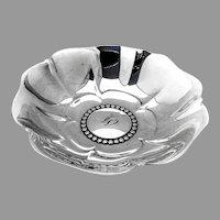 Tiffany Co Blossom Bowl Beaded Centerpiece Sterling Silver Mono