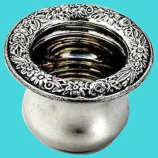 Kirk Repousse Toothpick Holder Number 10 Sterling Silver