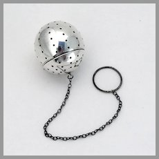 Blackinton Tea Ball Sterling Silver 1940